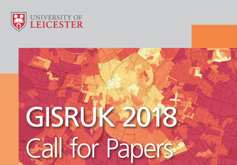 GISRUK 2018 Call for papers