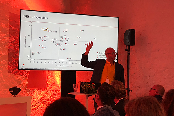 Almedalen 2018 PWCs presentation om öppna data