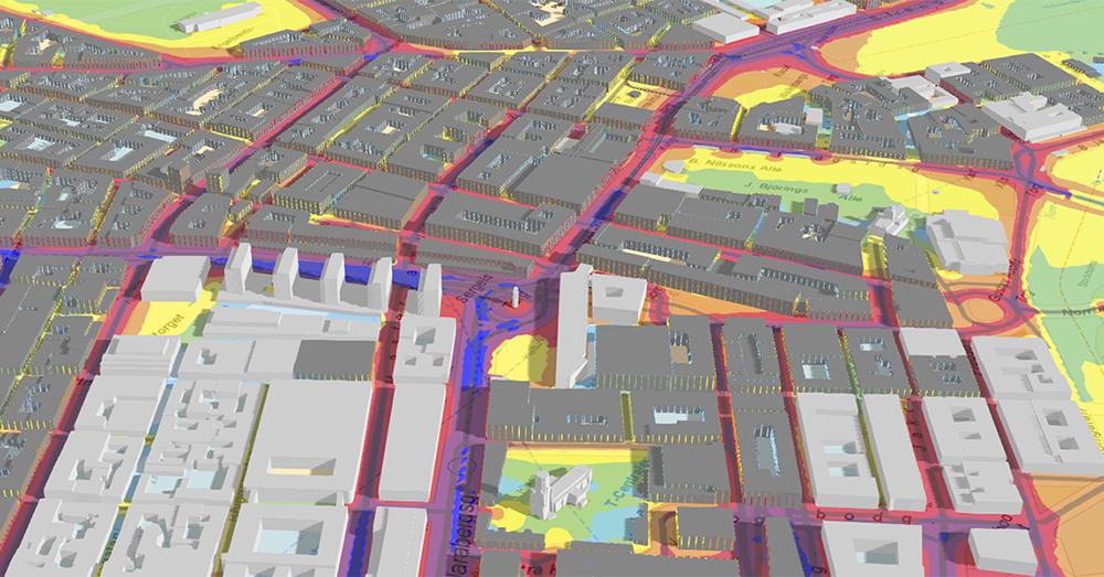 bullerkarta trafik stockholm