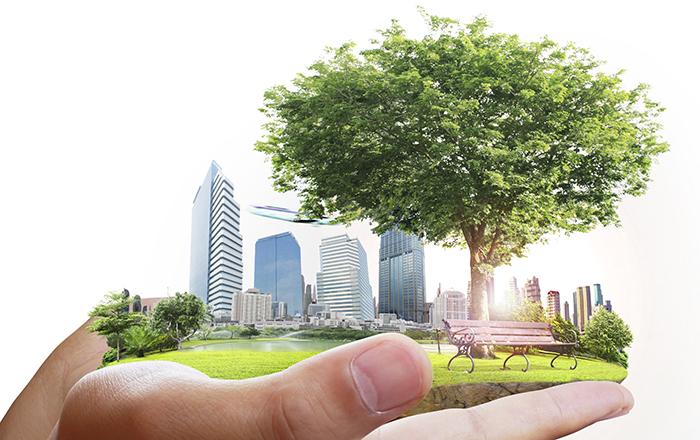 arbetasmart hand gron stad