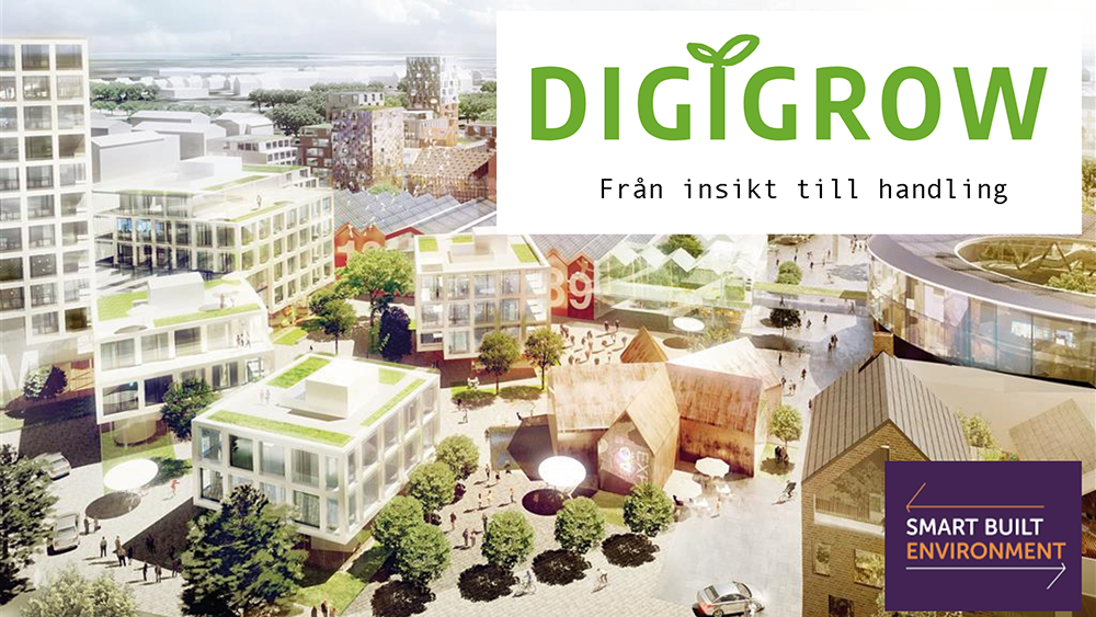 DigiGrow – ett projekt inom Smart Built Environment