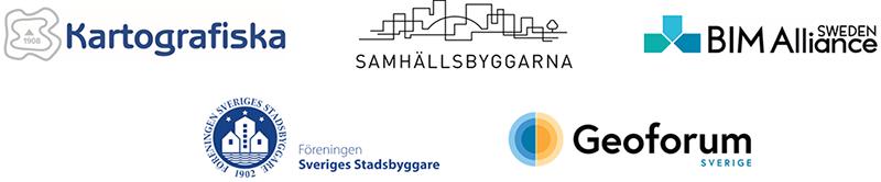 Logotyper för arrangörerna av Position